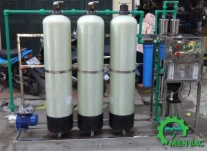 Dây chuyền lọc nước tinh khiết 500 lít