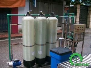 Dây chuyền lọc nước tinh khiết 800 lít
