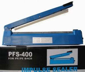 Máy hàn miệng túi dập tay PFS 400