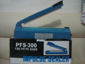 Máy hàn miệng túi dập tay PFS 300