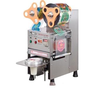 Máy dán miệng cốc tự động ET-Q9 (vỏ Inox)