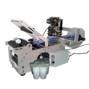 Máy dán nhãn decal chai tròn LT-50