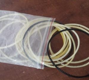 Dây cu roa nhựa cho máy hàn miệng túi liên tục