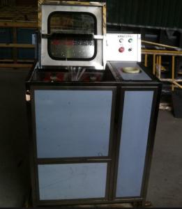 Máy rửa và nhổ nắp tự động