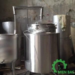 Nồi nấu rượu MINI 100 lít – 150 lít
