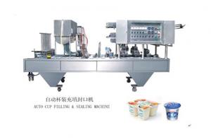 Giới thiệu máy chiết rót sữa chua Miền Bắc