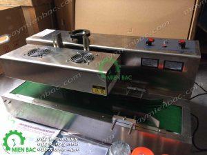 Máy dán màng seal tự động DL-300 (2 Quạt)