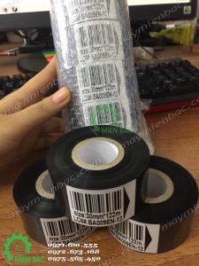Cuộn mực máy in date dập tay